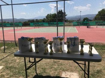 Όμιλος Αντισφαίρισης Βέροιας : Ολοκληρώθηκε με επιτυχία το Πανελλαδικό Πρωτάθλημα τένις Ε2
