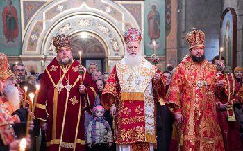 Η εορτή του Αγίου Δημητρίου στην Ι. Μητρόπολη Ζιτόμερ (Ουκρανία)
