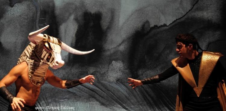 """""""Ο ΘΗΣΕΑΣ ΚΑΙ Ο ΜΙΝΩΤΑΥΡΟΣ"""" από την Κάρμεν Ρουγγέρη τη Δευτέρα 17 Αυγούστου στη Βέροια"""