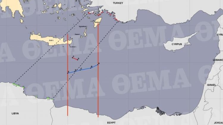Εκτός ελληνικής ΑΟΖ Καστελόριζο, περικοπές σε Ρόδο και...Κρήτη, στη συμφωνία Δένδια με Αίγυπτο!