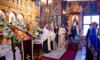 Παράκληση της Παναγίας από το Σεβασμιώτατο στην Αλεξάνδρεια