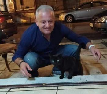 Η ...τυχερή μαύρη γάτα του Πυράρχου!