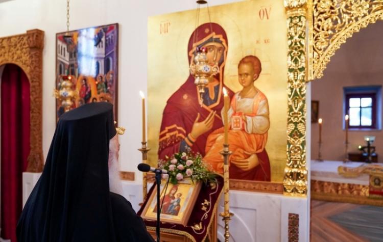 Συνεχίζονται οι παρακλήσεις της Παναγίας μας στην Ιερά Μητρόπολη Βεροίας. Παράκληση από το Σεβασμιώτατο στο Κλειδί