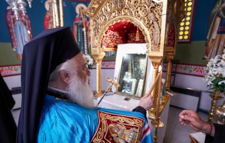 Παράκληση της Θεοτόκου στην «Κυρά του Πόντου», στην Παναγία Σουμελά στο Βέρμιο