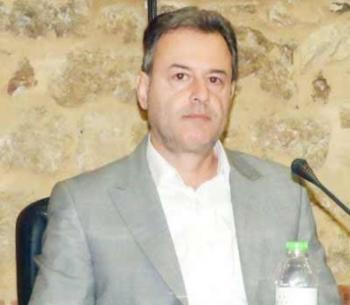 Χαιρετισμός του νέου Διευθυντή Πρωτοβάθμιας Εκπαίδευσης Ημαθίας, Δημήτρη Πυρινού