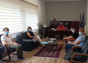 Συνάντηση Δημάρχου Νάουσας με το νέο Δ.Σ. του Συλλόγου Φίλων του Νοσοκομείου Νάουσας