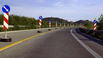Κυκλοφοριακές ρυθμίσεις για την εκτέλεση εργασιών ενίσχυσης της υφιστάμενης γέφυρας του ποταμού Αλιάκμονα στον αυτ/δρομο Α.Θ.Ε. «Μαλιακός - Κλειδί»