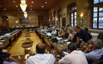 Συνεδρίασε χθες το Δημοτικό Συμβούλιο Βέροιας