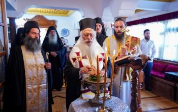 Θυρανοίξια Ιερού Παρεκκλησίου προς τιμήν του Οσίου Ιωσήφ του Ησυχαστού και μεγαλοσχημία μοναχού στην Ι.Μ.Παναγίας Καλλίπετρας Βεροίας