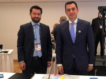 Σκρέκας και Μπαγινέτας στο άτυπο Συμβούλιο Υπουργών Γεωργίας της ΕΕ στη Γερμανία