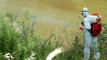 Ψεκασμός ULV (υπερμικρού όγκου) για την αντιμετώπιση ακμαίων κουνουπιών σε τμήμα της πόλης της Αλεξάνδρειας