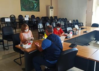 Δειγματοληπτικοί έλεγχοι με τεστ αντισωμάτων για κορονοϊό σε εργαζόμενους του Δήμου Νάουσας