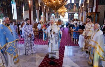 Πανηγύρισε ο Ιερός Ναός Γενεσίου της Θεοτόκου στο Πλατύ