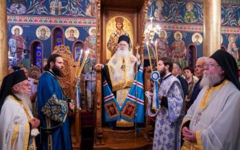 Πανηγυρικός Εσπερινός στον Ιερό Ναό Γενεσίου της Θεοτόκου Μαλγάρων