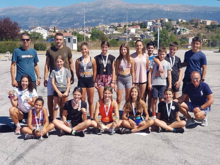 Διακρίσεις αθλητών του ΕΟΣ Νάουσας σε διεθνείς αγώνες ρόλλερ