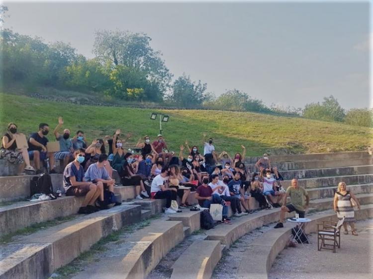 Χτύπησε το πρώτο κουδούνι στο «1ο Σχολείο Σκηνοθεσίας στη Σχολή του Αριστοτέλη – 2500 χρόνια μετά» του ΔΗ.ΠΕ.ΘΕ. Βέροιας