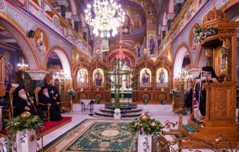 Πολυαρχιερατικός Εσπερινός για την εορτή της Υψώσεως του Τιμίου Σταυρού στην Κοζάνη