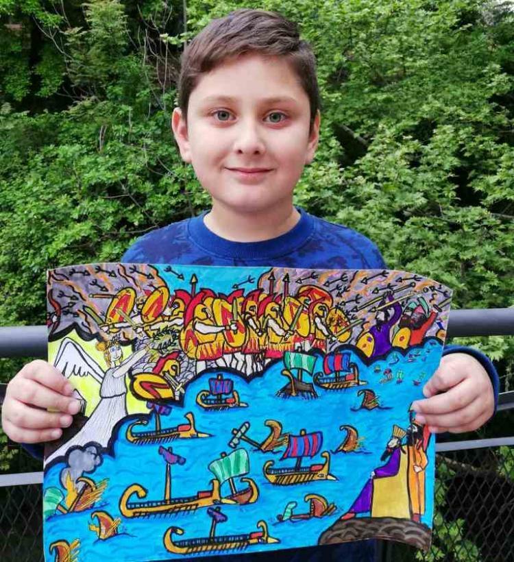 1ο  Βραβείο στον Πανελλήνιο Μαθητικό Διαγωνισμό Ζωγραφικής, στην κατηγορία της Γ΄ Δημοτικού, στο Γιάννη Κοκκινίδη