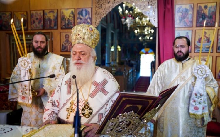 Εορτάστηκε η μνήμη του Αγίου Συμεών Θεσσαλονίκης στο Σταυρό Ημαθίας