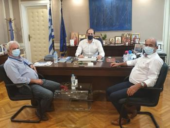 Με τον υφυπουργό Οικονομικών Απ. Βεσυρόπουλο συναντήθηκαν οι Γ. Φουντούλης και Σ. Κουμτσίδης του VAENI ΝΑΟΥΣΑ