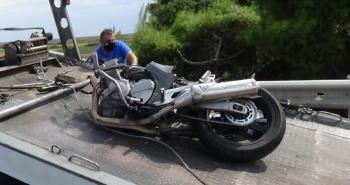 Νεκρός 39χρονος μοτοσυκλετιστής σε τροχαίο στην Εγνατία Οδό