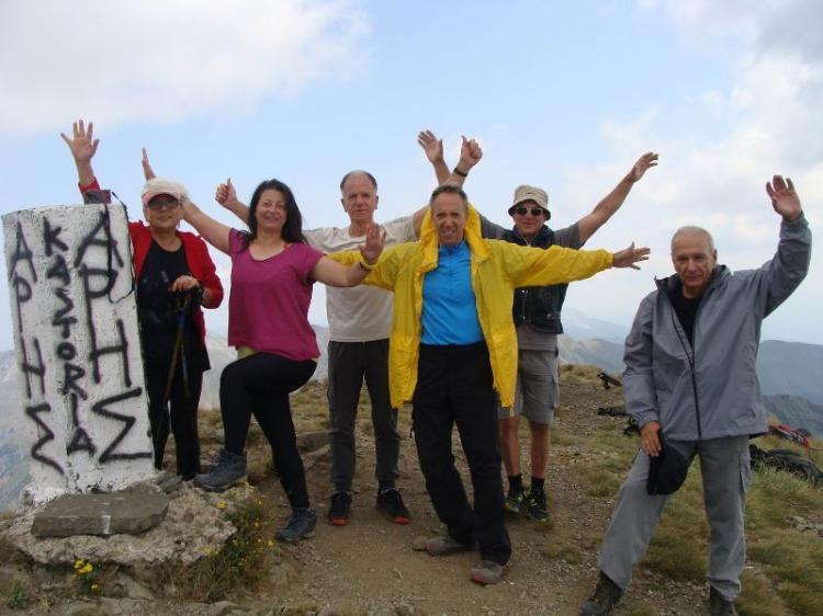 ΓΡΑΜΜΟΣ, υψόμετρο 2520μ., Kυριακή 20 Σεπτεμβρίου 2020, με τους Ορειβάτες Βέροιας