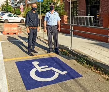 Οριζόντιες σημάνσεις από Δήμο Βέροιας και Αστυνομική Διεύθυνση για ασφαλή κυκλοφορία