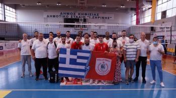 ΑΠΣ ΦΙΛΙΠΠΟΣ ΒΕΡΟΙΑΣ : Νικηφόρο φινάλε στα φιλικά της Αθήνας, 2-1 σετ την Κηφισιά