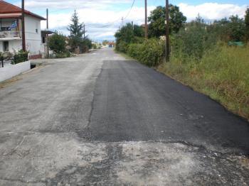 Εργασίες αποκατάστασης οδοστρώματος στη Ν. Νικομήδεια