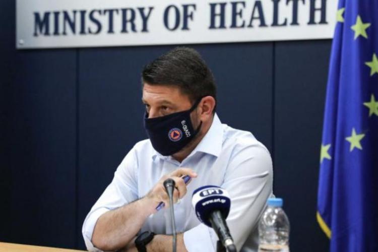 Χαρδαλιάς: Ενεργοποιείται χάρτης υγειονομικής ασφάλειας με 4 επίπεδα ετοιμότητας