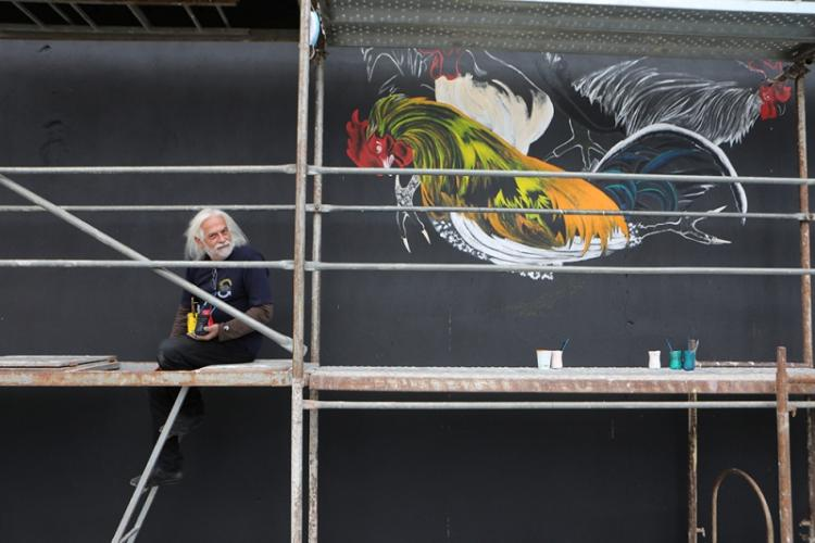 Ολοκληρώθηκαν με επιτυχία οι εικαστικές δράσεις αστικής τέχνης στο πλαίσιο του «Naoussa Urban Art Festival 2020»