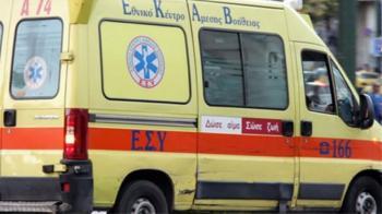 Θανάσιμος τραυματισμός 42χρονου οδηγού μοτοσυκλέτας που εξετράπη της πορείας της
