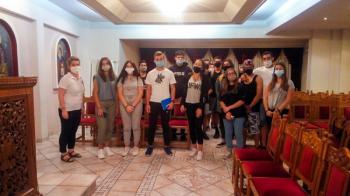 Ενημέρωση για την πρόληψη της εξάπλωσης του covid19 στους μαθητές του Κοινωνικού Φροντιστηρίου από το Περιφερειακό τμήμα Ελληνικού Ερυθρού Σταυρού Βεροίας