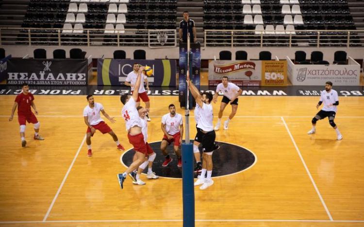 Φιλική ήττα του Α.Π.Σ Φίλιππος Βέροιας Volleyball με πολλές δοκιμές στο «Παλατάκι»