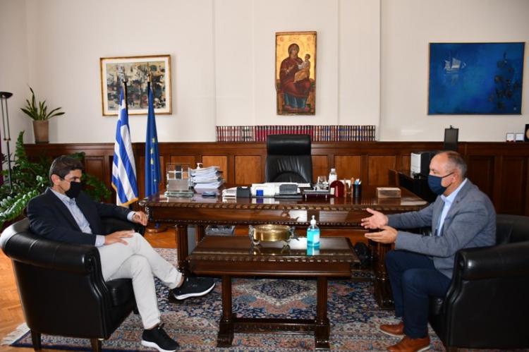 Θ.Καράογλου-Λ.Αυγενάκης : «Θέλουμε η καρδιά του αθλητισμού να χτυπάει πολύ δυνατά στη Μακεδονία και τη Θράκη»