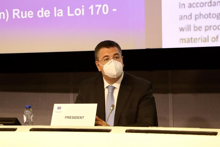 Παρουσίαση της Κατάστασης των Περιφερειών και των Δήμων της Ευρώπης και του Βαρόμετρου των Περιφερειών και Δήμων της ΕΕ 2020 από τον Πρόεδρο της Ε. Ε. Α.Τζιτζικώστα