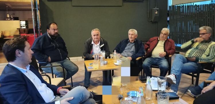 Συναντήσεις Δημάρχου Νάουσας με δημότες στις Τοπικές Κοινότητες Χαρίεσσας και Λευκαδίων