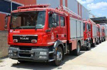 Επεμβάσεις της Πυροσβεστικής Υπηρεσίας Βέροιας το τριήμερο 15 με 17 Νοεμβρίου