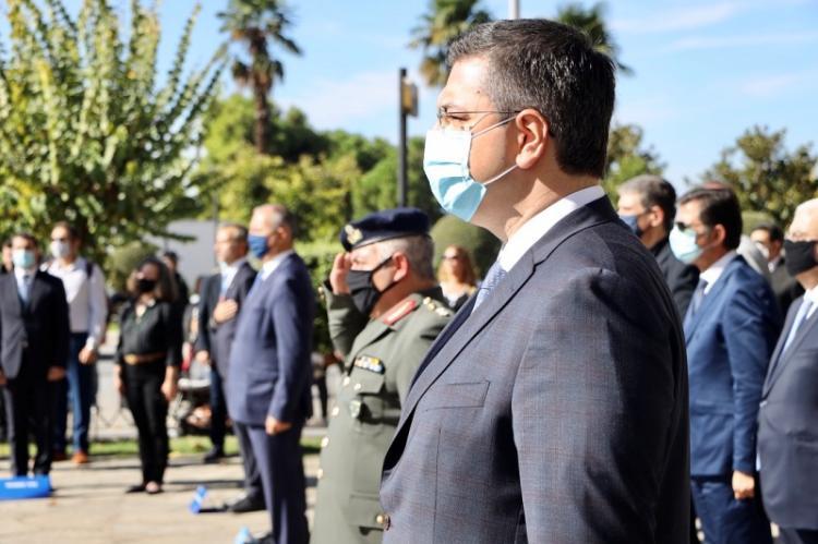 Ο Περιφερειάρχης Κ.Μακεδονίας Απ.Τζιτζικώστας στις εκδηλώσεις της Περιφέρειας για τον εορτασμό του Μακεδονικού Αγώνα στη Θεσσαλονίκη