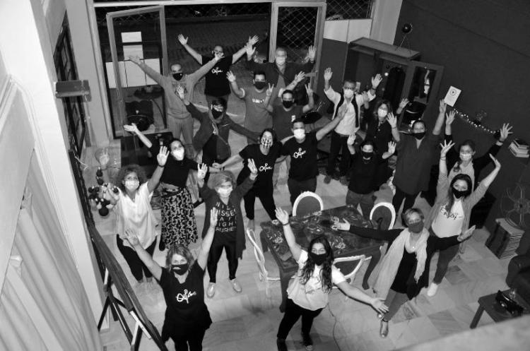 Συνάντηση παλιών και νέων μελών της θεατρικής ομάδας «ΘΕΡΩΣ»