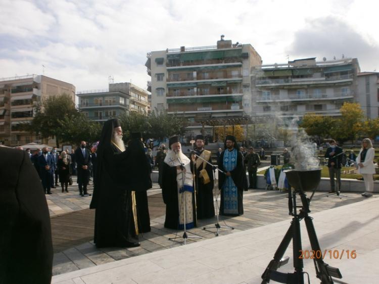 Mε λαμπρότητα και υγειονομικούς περιορισμούς γιορτάστηκαν τα 108α Ελευθέρια της Βέροιας