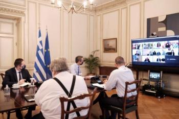 Μητσοτάκης στην Εθνική Αρχή Διαφάνειας: Σημαντική η συνεισφορά σας στην πάταξη της διαφθοράς -Εντατικοποιούνται οι έλεγχοι για τον κορωνοϊό
