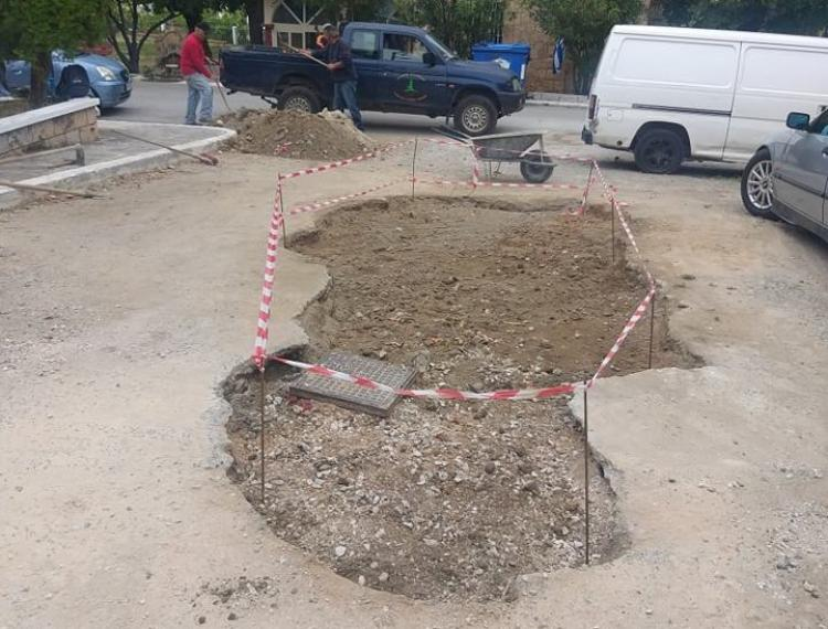 Δήμος Νάουσας : Εργασίες βελτίωσης του δρόμου που συνδέει τη Νάουσα με τον Κοπανό