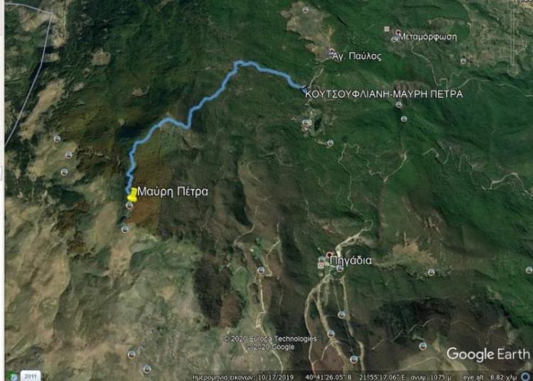 Διάνοιξη και σήμανση μονοπατιών στον ορεινό όγκο του Βερμίου από το Δήμο Νάουσας και αθλητικά σωματεία