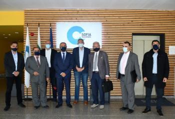 Επίσκεψη Θ. Καράογλου στο Τεχνολογικό Πάρκο της Βουλγαρίας