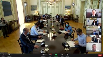 Συμμετοχή Δημάρχου Η.Π. Νάουσας, Νικόλα Καρανικόλα, σε διαδικτυακή συνάντηση με τον Πρωθυπουργό