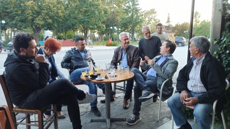 Συναντήσεις Δημάρχου Νάουσας με δημότες σε Αρχάγγελο και Ζερβοχώρι