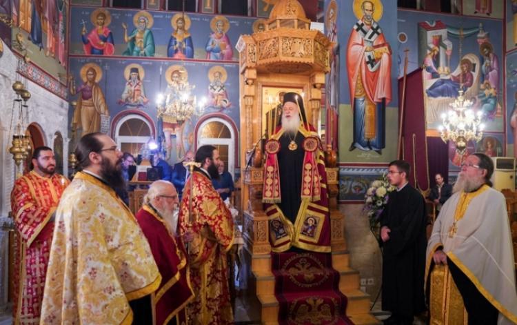 Εορτάστηκε η μνήμη του Αγίου Μεγαλομάρτυρος Δημητρίου του Μυροβλύτου στην Ιερά Μητρόπολη Βεροίας