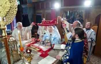Αρχιερατική θεία Λειτουργία στον Ι. Ναό Αγ. Δημητρίου Ξεχασμένης