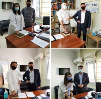 Ολοκληρώθηκε η πρόσληψη τεσσάρων Ειδικευμένων Ιατρών στο Νοσοκομείο Νάουσας